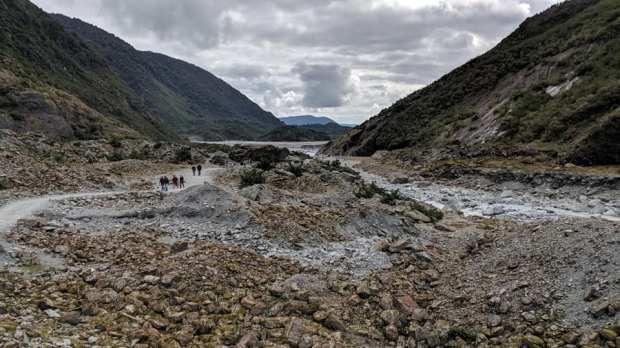 glacier valley walk