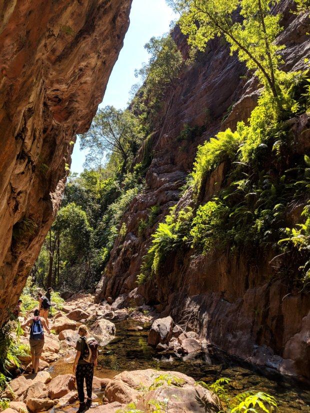 Hiking El Questro Gorge