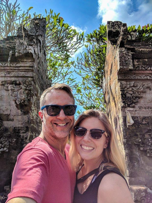 Batuan Temple gates