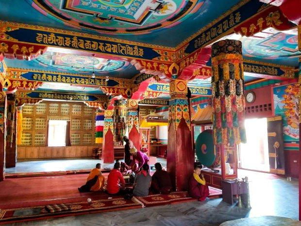 Kungri Monastery Spiti Valley, Himachal Pradesh, India