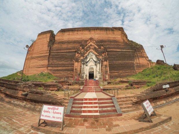 Mingun Stupa Mandalay Myanmar
