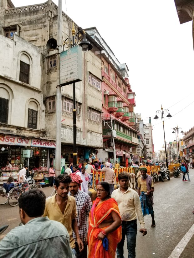 Chaos of the streets of India