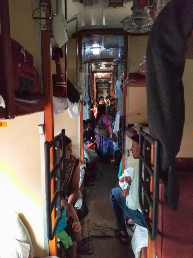 India overnight train
