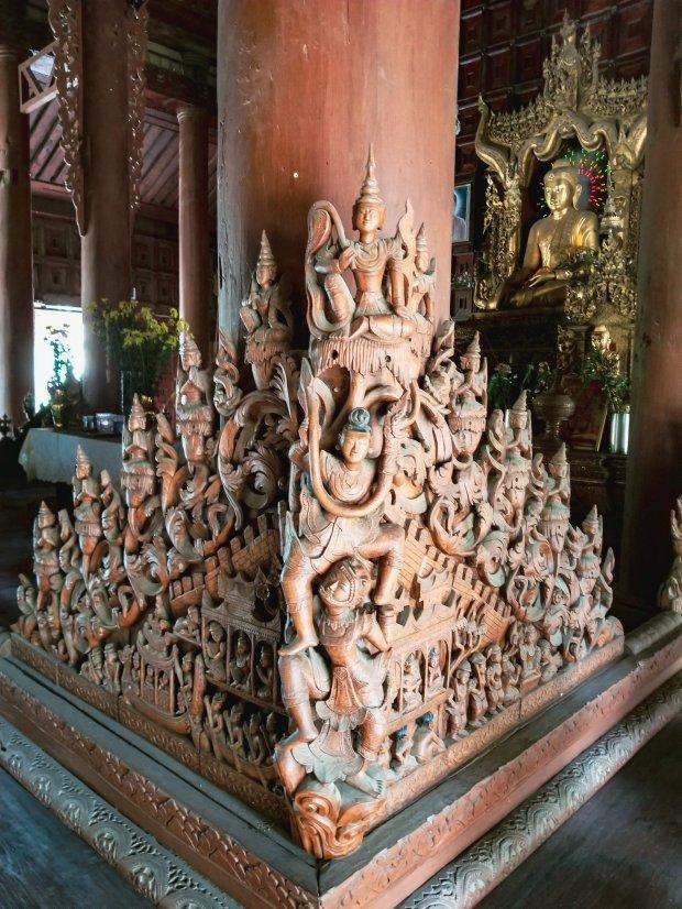 Shwe Inbin Monastery, Mandalay Myanmar