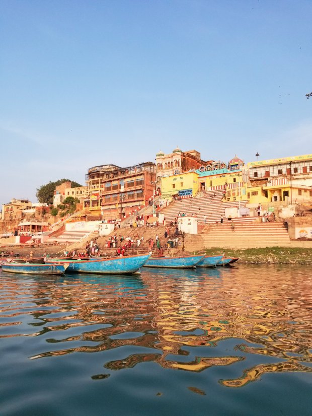 early morning on the Ganges, Varanasi India
