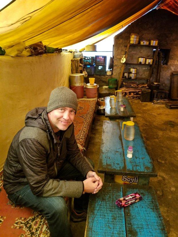 Tea house, Spiti Valley, Himachal Pradesh, India
