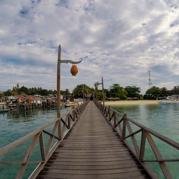 Mabul Island Sea Gypsy village