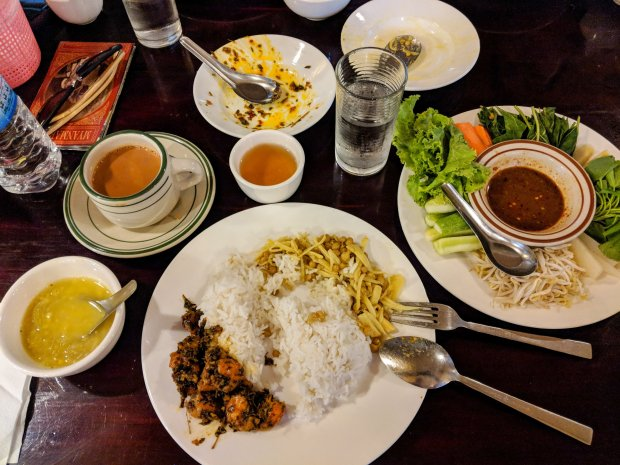 Myanmar food in Yangon