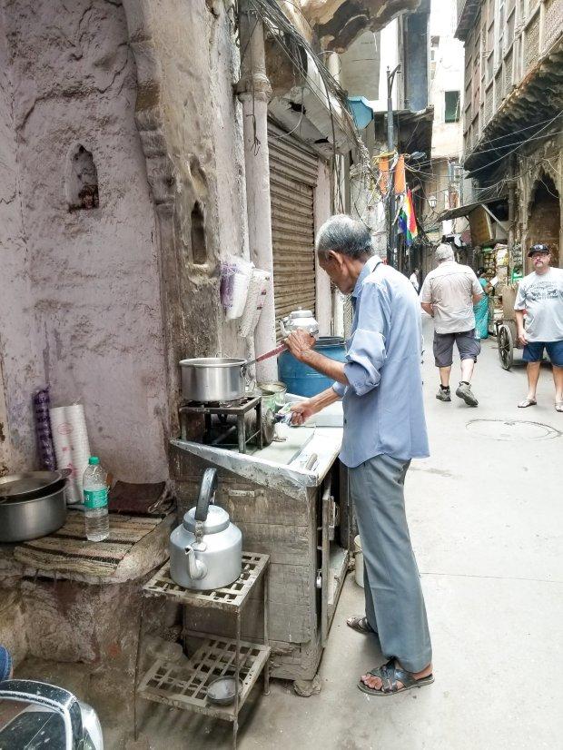 Old Delhi masala chai