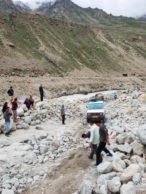 Roads in Spiti Valley, Himachal Pradesh, India