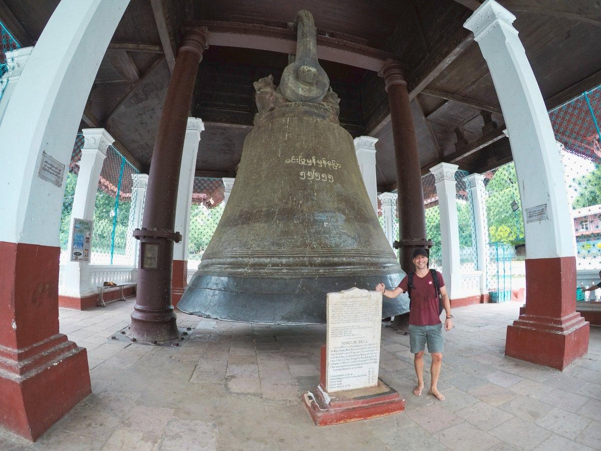 Mingun Bell, Mandalay Myanmar