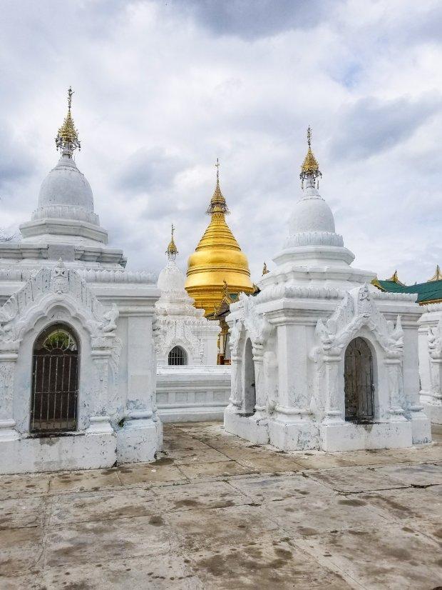Kuthodaw Pagoda Mandalay Myanmar