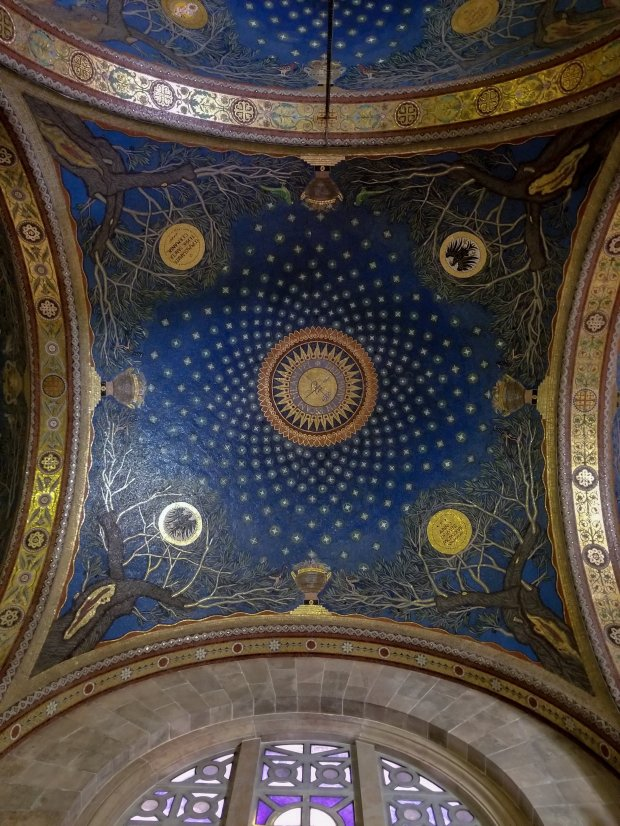 Ceiling Church of All Nations Garden of Gethsemane Israel