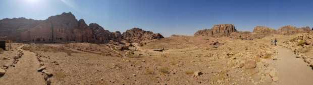 Petra Jordan panorama