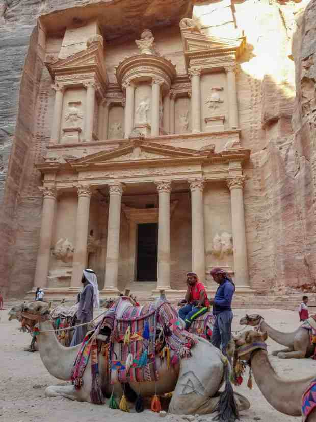 The Treasury at Petra Jordan