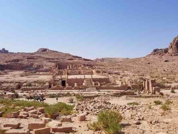 The Great Temple at Petra Jordan