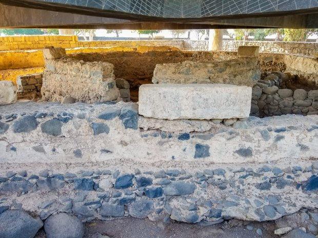 Peter's house at Capernaum Israel