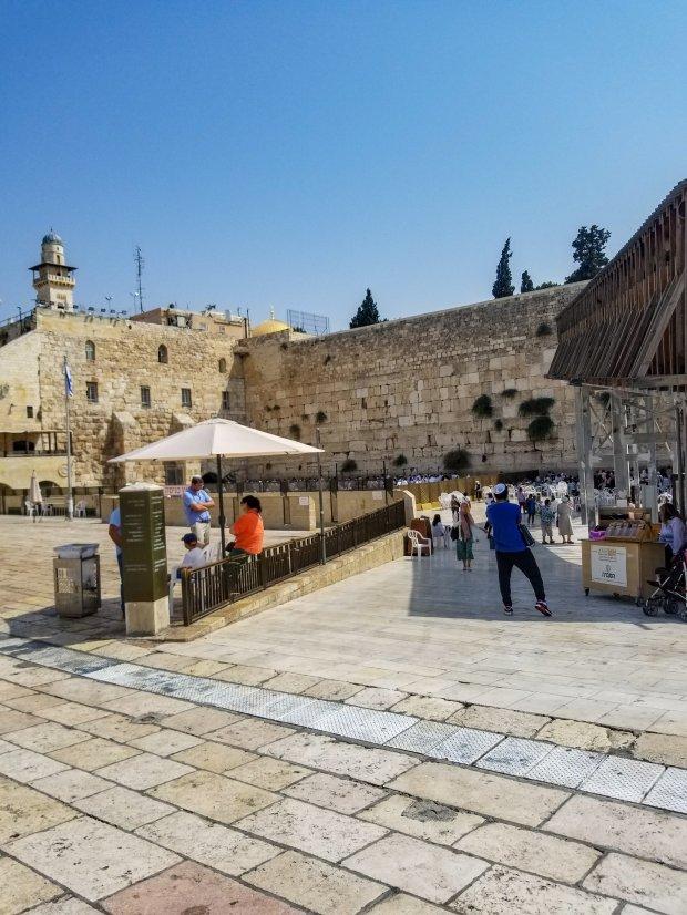 Western Wall Wailing Wall Jerusalem Israel