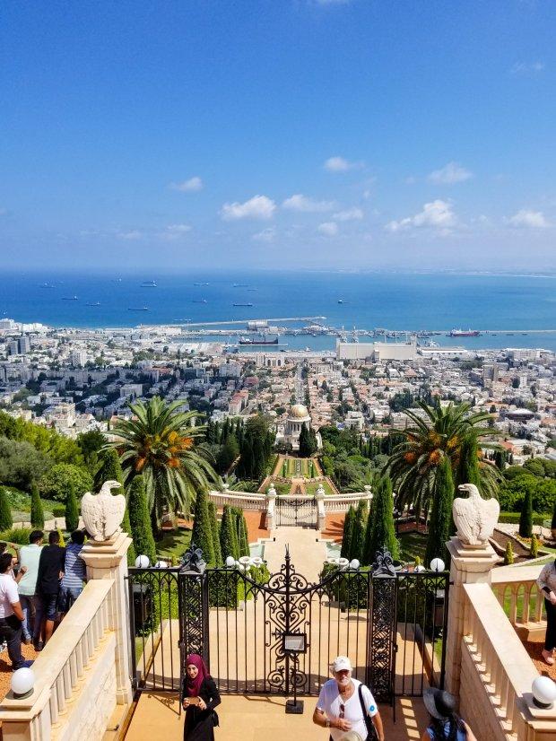 Baha'i Gardens in Haifa Israel