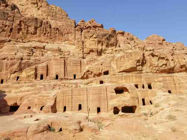 Tombs at Petra Jordan
