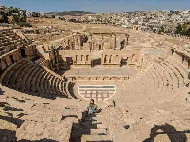 Theater Jerash Jordan