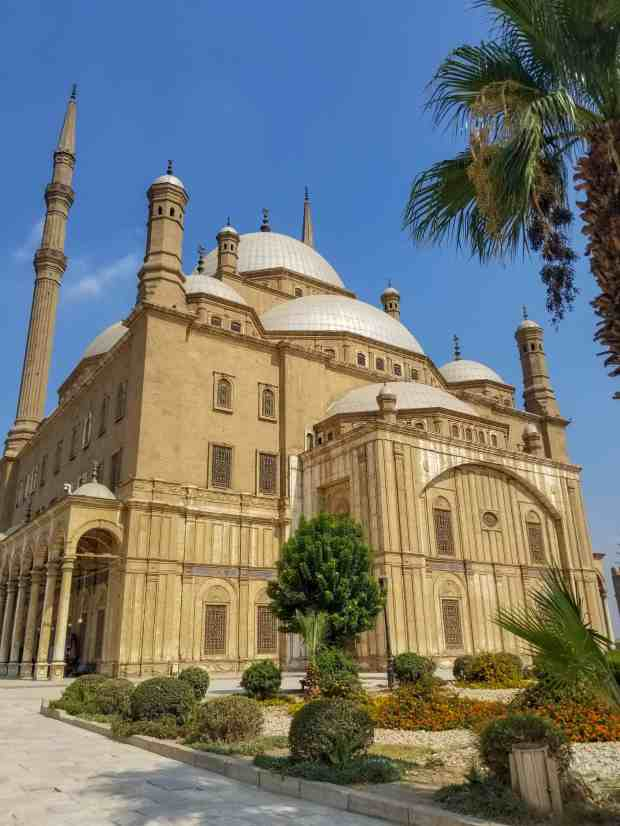 The Alabaster Mosque of Mohammad Ali Cairo Egypt