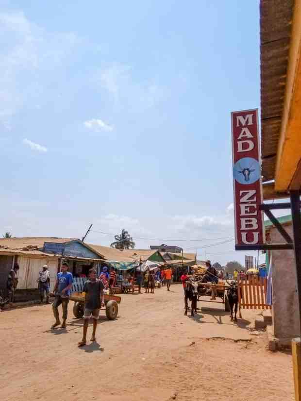 Mad Zebu Restaurant Belo-sur-Tsiribihina Madagascar