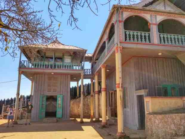 royal palace in Ambohimanga Madagascar