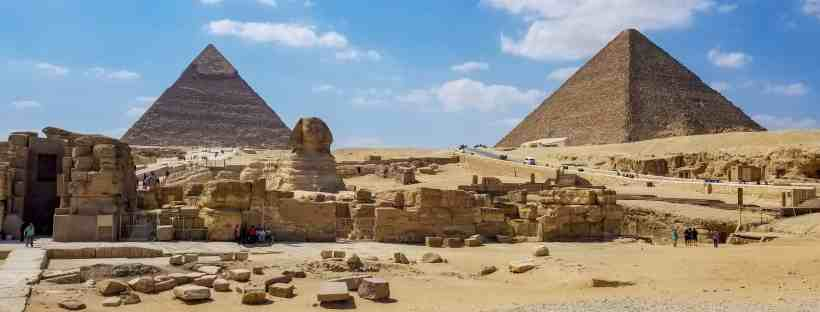 Great Pyramids Sphinx Egypt