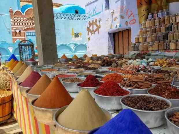 Nubian village Aswan Egypt