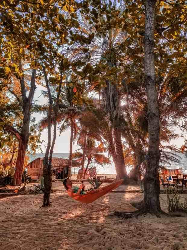 Ifaty Madagascar beach hammock
