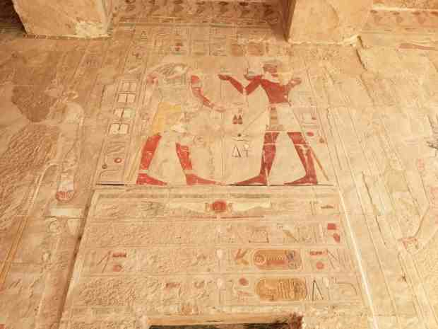 Memorial Temple of Hatshepsut Luxor Egypt