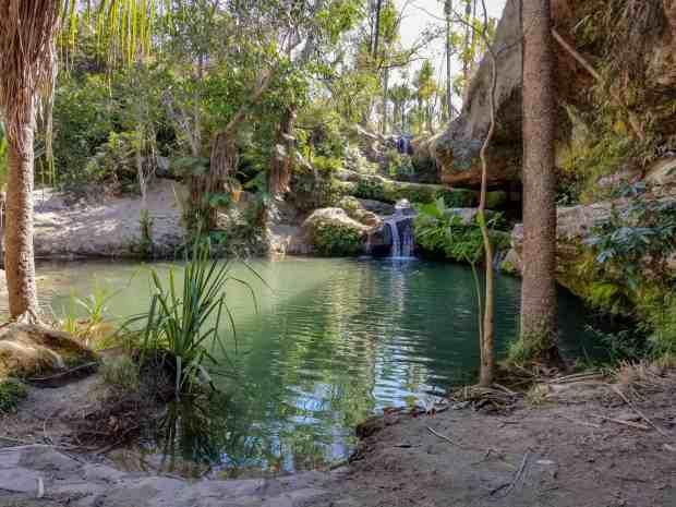 Natural Pool at Isalo National Park Madagascar
