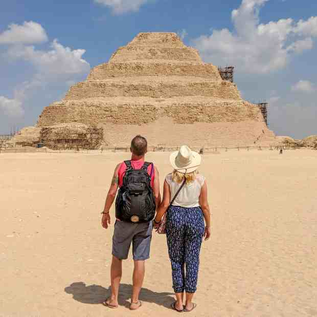 The Step Pyramid of Zoser Saqqara Egypt