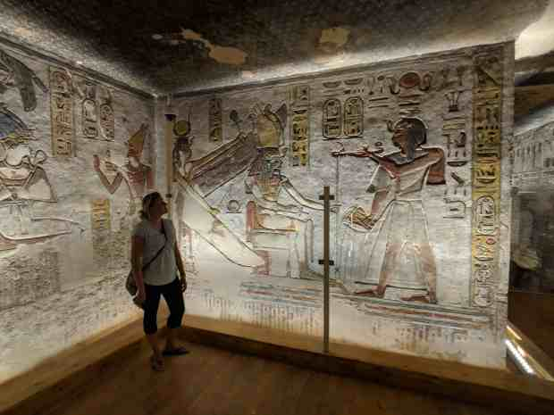Ramses III Tomb Valley of the Kings Luxor Egypt