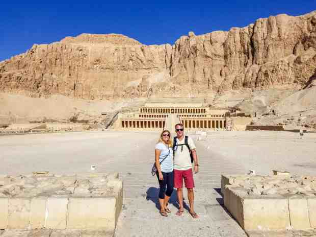 Memorial Temple of Hatshepsut, Luxor Egypt