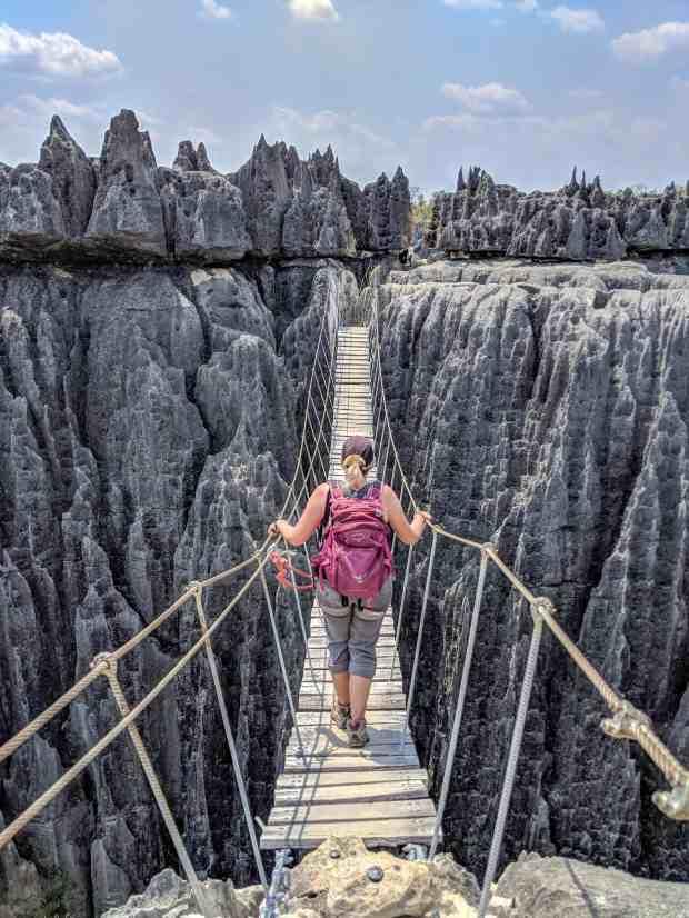 Suspension Bridge Grand Tsingy Madagascar