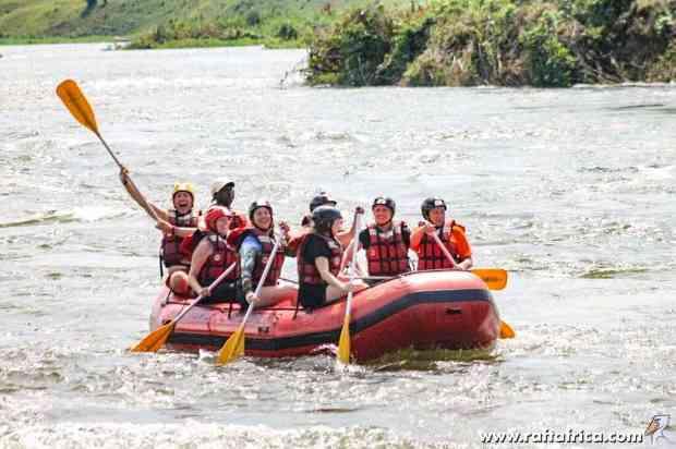 Jinja Uganda white water rafting