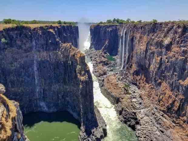 Zambia and Zimbabwe Victoria falls