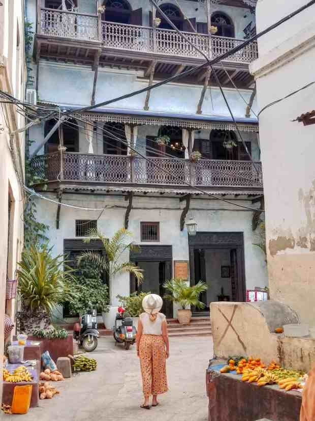 Streets of Stone Town Zanzibar Tanzania