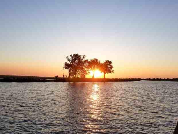 Sunset at Chobe National Park Botswana
