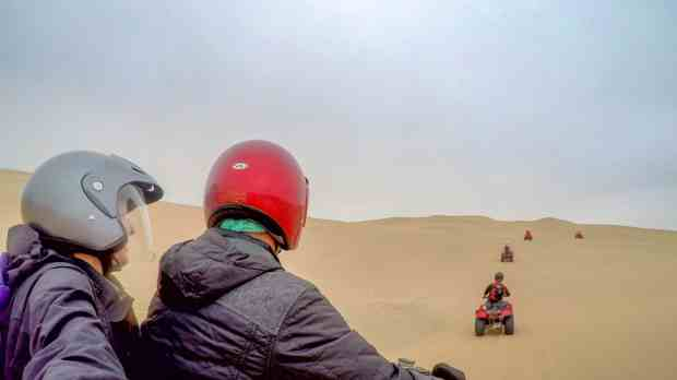 Quad Biking the Namib Desert Swakopmund
