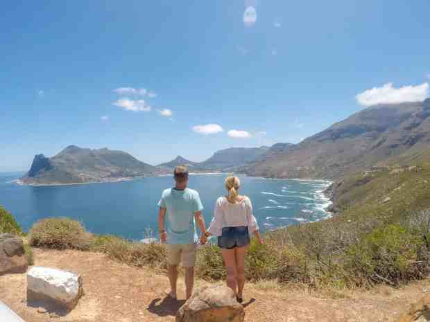 Views on Chapman's Peak Drive cape Town South Africa