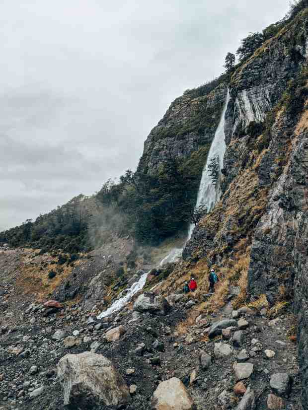 Glacier hike trail el calafate Argentina Patagonia