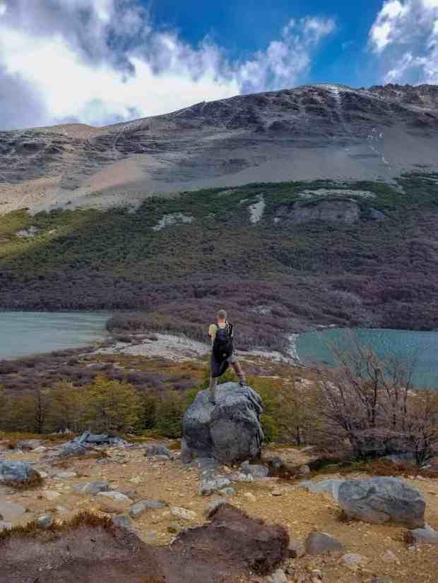 Madre and Hija lakes El Chaltén Argentina Patagonia