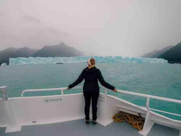Perito Moreno Glacier by boat