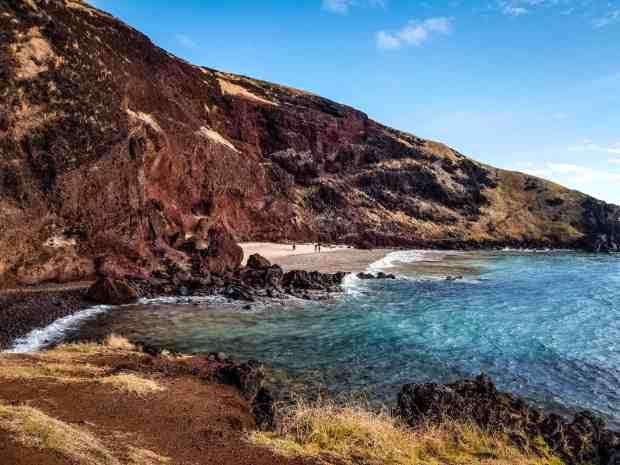 Ohave Beach Rapa Nui Easter Island Chile