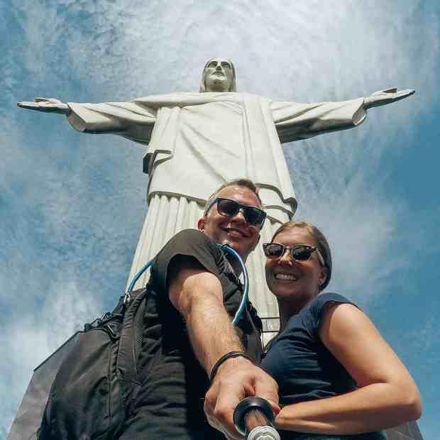 Cristo Redentor statue in Rio de Janeiro