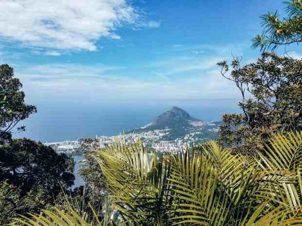 Cristo Redentor statue in Rio de Janeiro  views from Corcovado Mountain