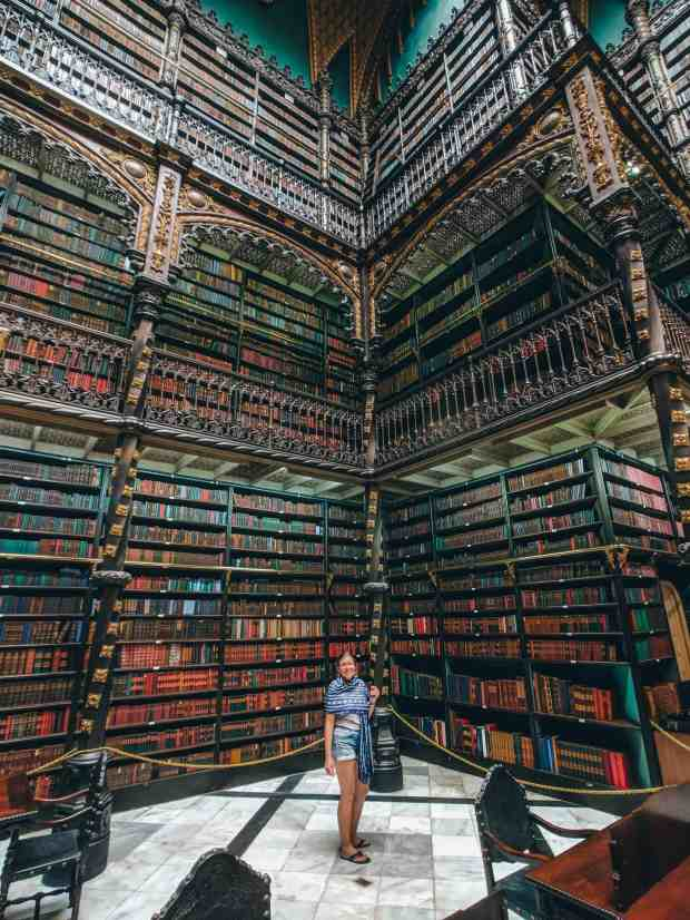 e Royal Portuguese Reading Cabinet in Rio de Janeiro, Brazil